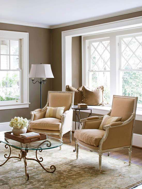 Furniture Arrangement Ideas and More for Small Living Rooms - small living room chairs