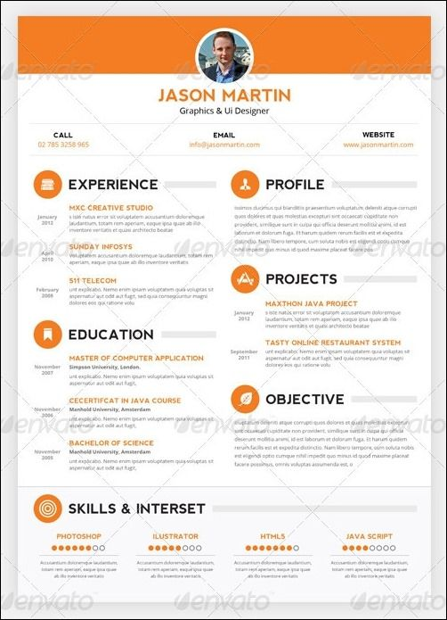 best video resume sites 17 best images about resume ideas on pinterest infographic 502x695 - Best Resume Sites