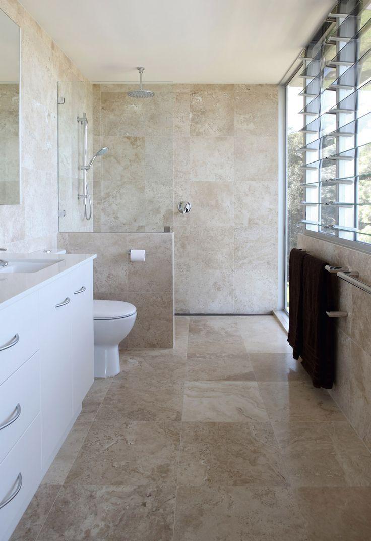 Bathroom calm and beautiful neutral bathroom interior design brown marble bathroom floor tile ideas