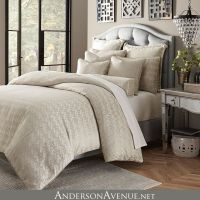The Carlyle is a soft, neutral bedding collection with ...