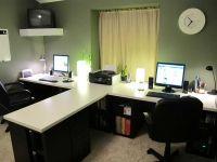 Home Office Desks For Two ~ Desks Category