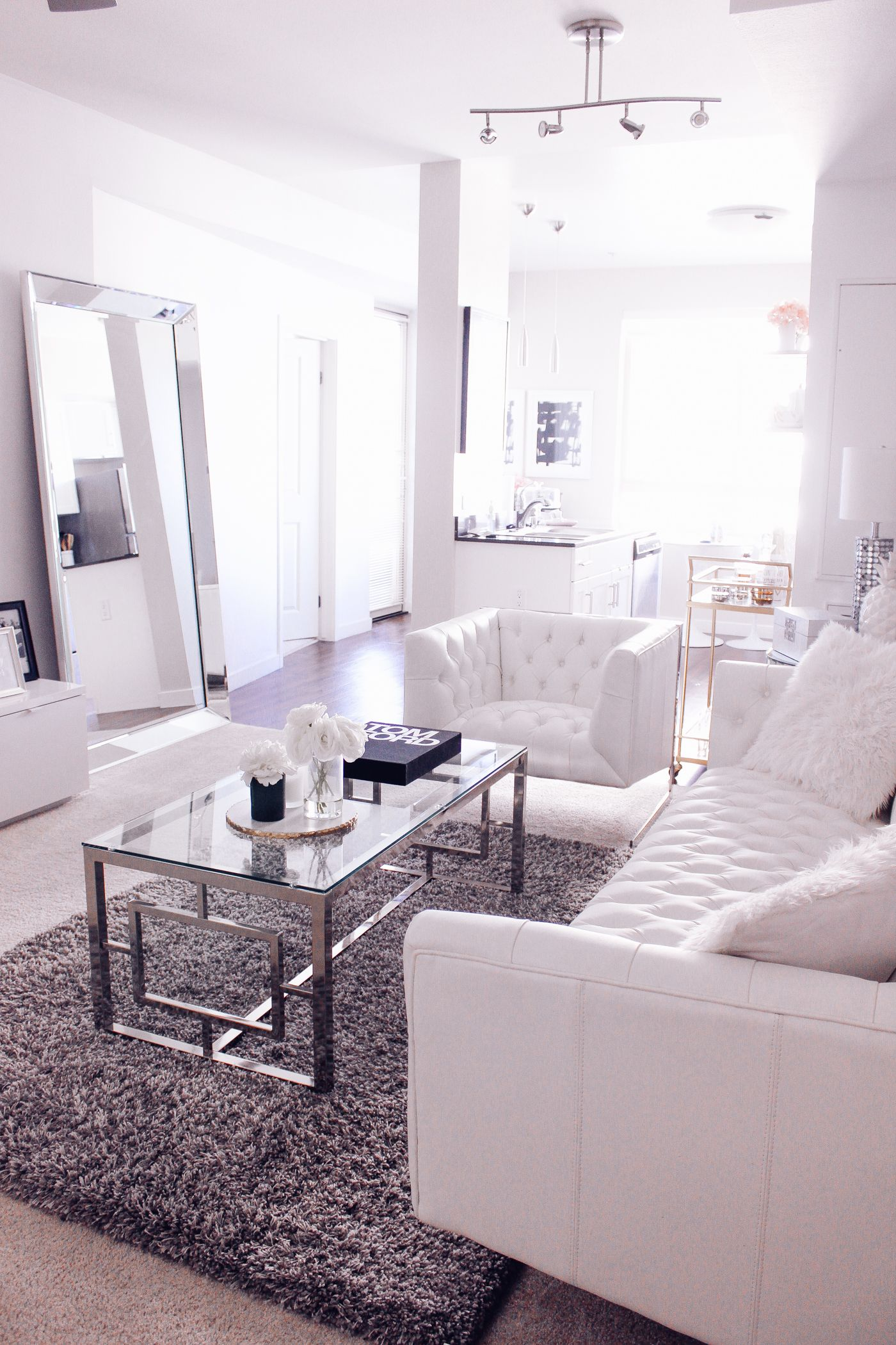 White On White Living Room Blondie In The City 4 Reasons Why Your Home Needs A