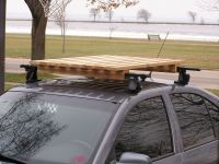 wooden roof rack | Camping | Pinterest | Roof rack, Diy ...