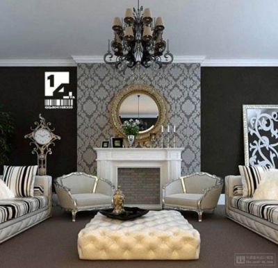 Best 25+ Wallpaper fireplace ideas on Pinterest | Living room fireplace wallpaper, Chimney ...