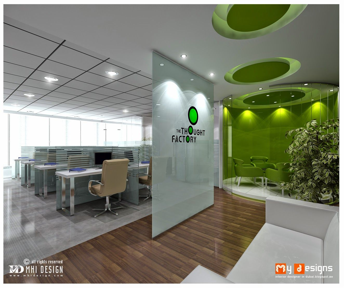 Simple Office Reception Design Dubai Office Reception Design Proposal For One Of Mhi