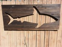 Pallet Shark Wood Wall Art by Peace Love Wood | Collection ...