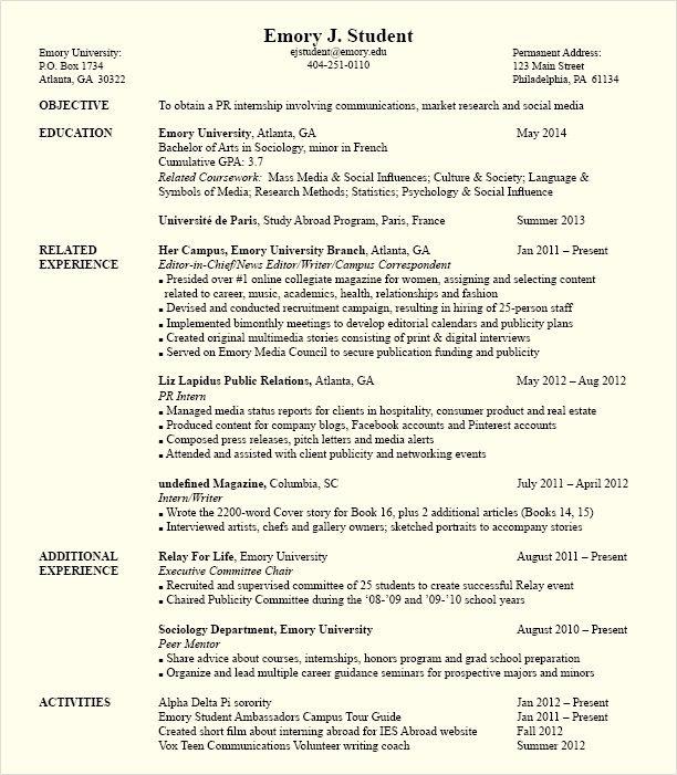 Political Science Internship Resume - http\/\/topresumeinfo - interests to put on resume
