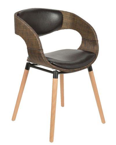 1x Design Club Stuhl Barstuhl Kuechen Esszimmer Stuhl