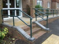 black pipe ada ramp handrail plan - Google Search | Ramps ...