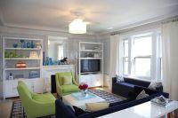 Navy Blue Living Room Decorating Ideas