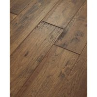 Shaw 8-in W Prefinished Hickory Engineered Hardwood ...