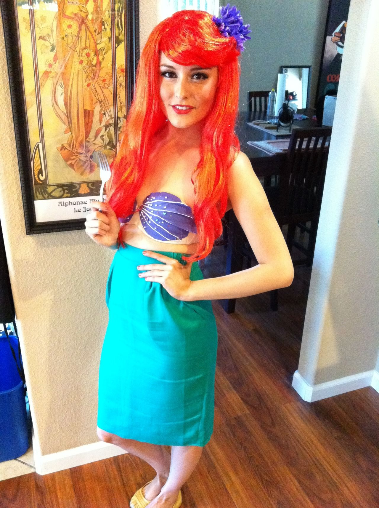 Diy little mermaid costume had an absolute blast putting together this costume for last year s pride celebration in san francisco