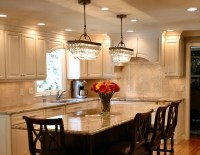 two chandeliers over dining table | Recipes to Cook ...