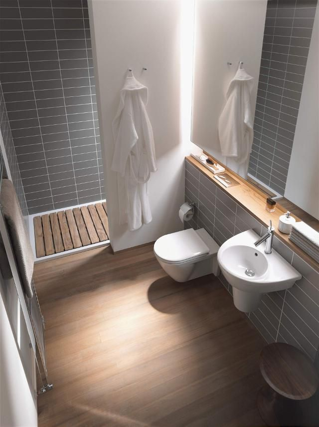 Gästebad Badideen für kleine Bäder Duravit Wohnung - badideen fur kleine bader
