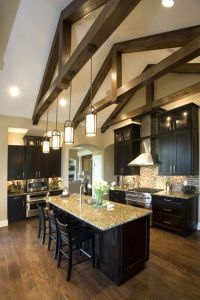 kitchen lighting vaulted ceiling | Kimberly Ann Homearama ...