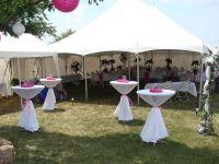 graduation tent decorating ideas | wedding tent pole ...