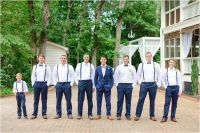 Groomsmen in Suspenders | by Rustic White Photography ...