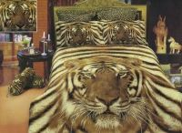 Jungle Theme Bedroom for Adults | Animal Print Bed In A ...