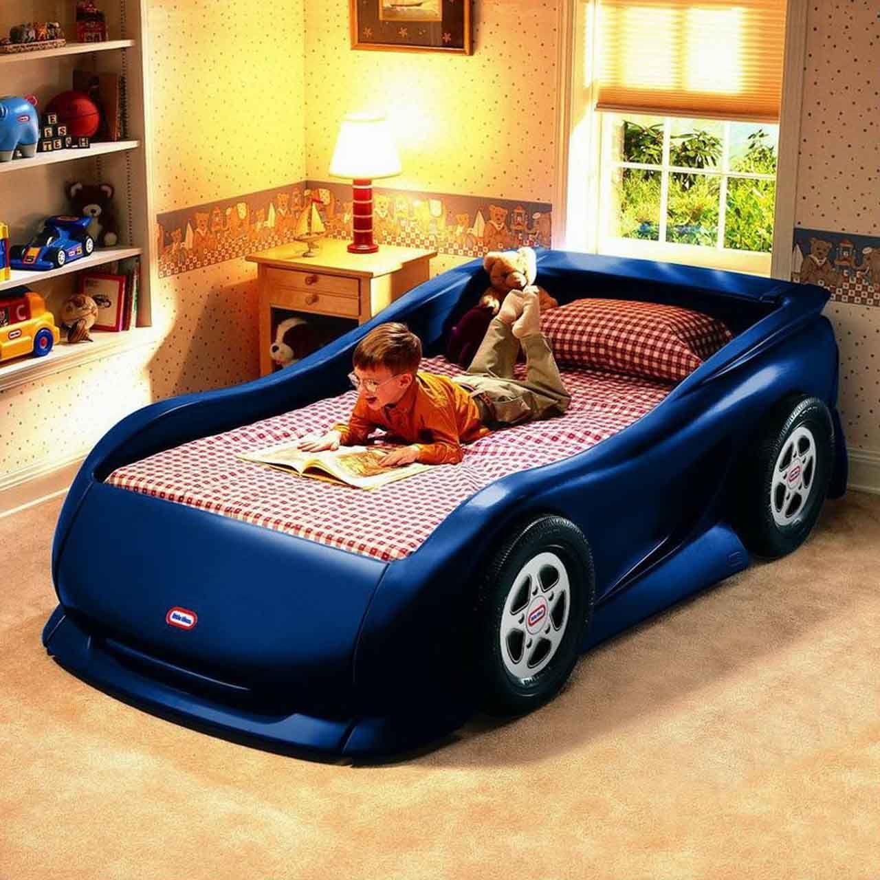 Car beds for kids boys bedroom furniture