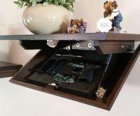 Great Idea, Hidden gun cabinet wall shelf. I need this ...