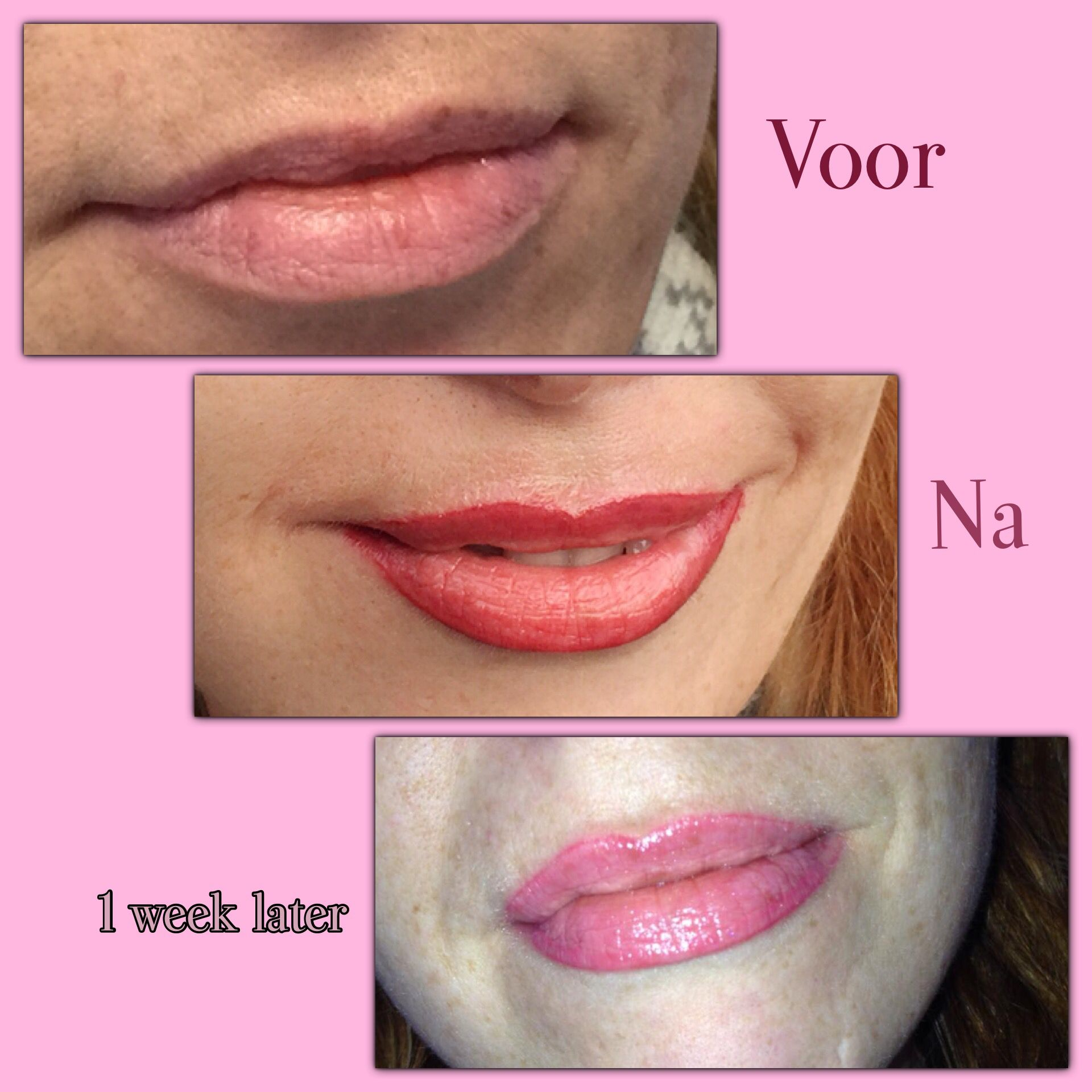 Schöne Lippen Schminken Permanent Make Up Lippen My Work Pinterest