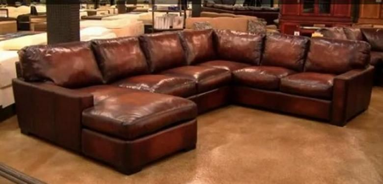 Napa Oversized Leather Sectional Home Decor Pinterest - oversized living room sets