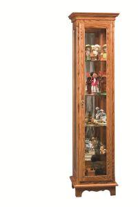 Amish Small Curio Cabinet | Small curio cabinet, Small ...