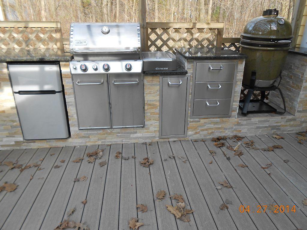 Outdoorküche Mit Weber Genesis : Weber gasgrill outdoor küche outdoorküche mit braai aus süd