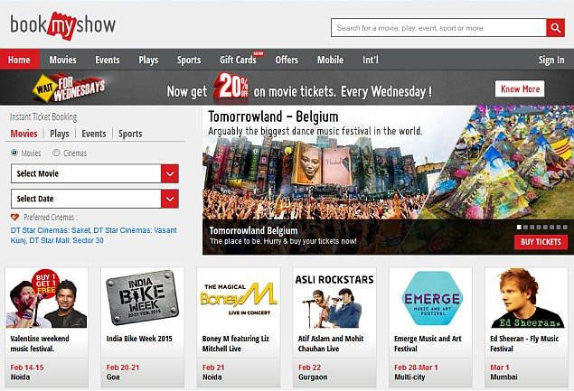 Build your own Online Movie Ticket Booking website that resembles - create your own movie ticket