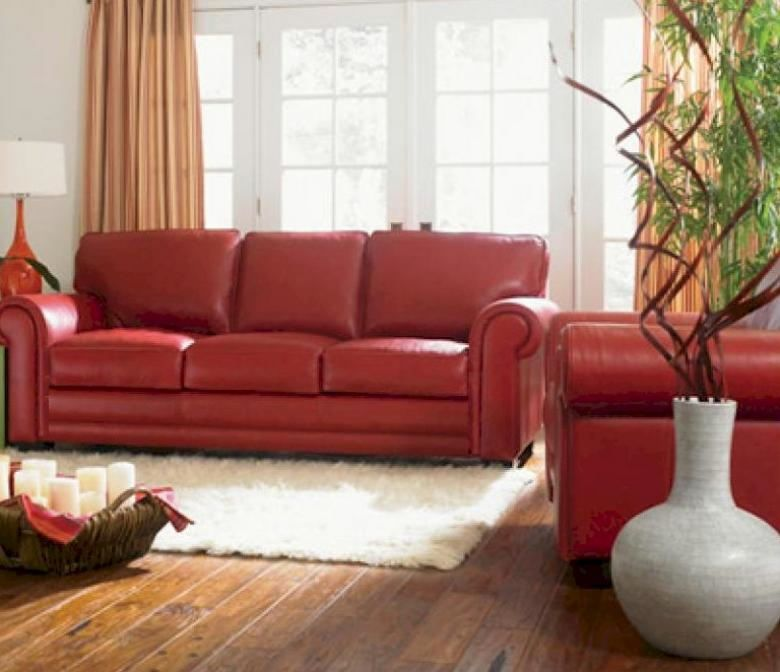 Best 25+ Red leather sofas ideas on Pinterest Red leather - red living room chair