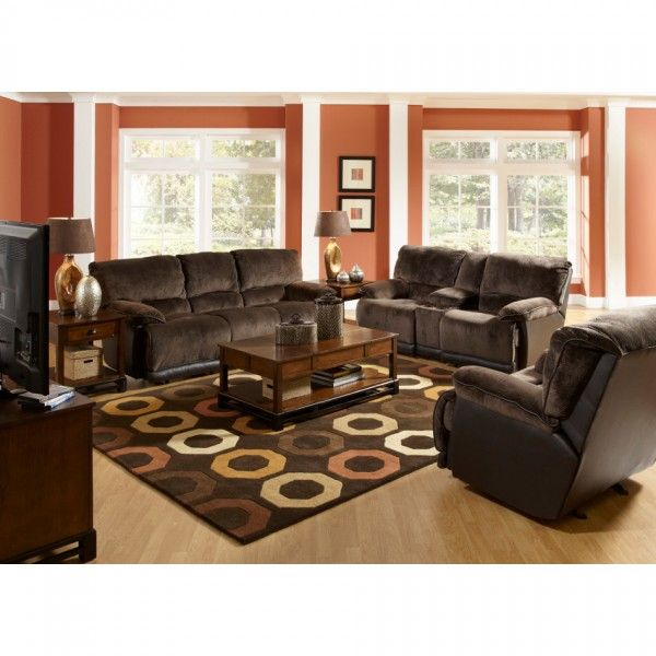 Escalade Living Room - Reclining Sofa, Reclining Loveseat - two piece living room set