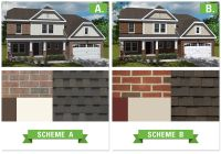 exterior house color schemes with red brick | Trina Clark ...