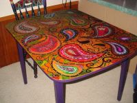Hand Painted Table | Painted Furniture that I love ...