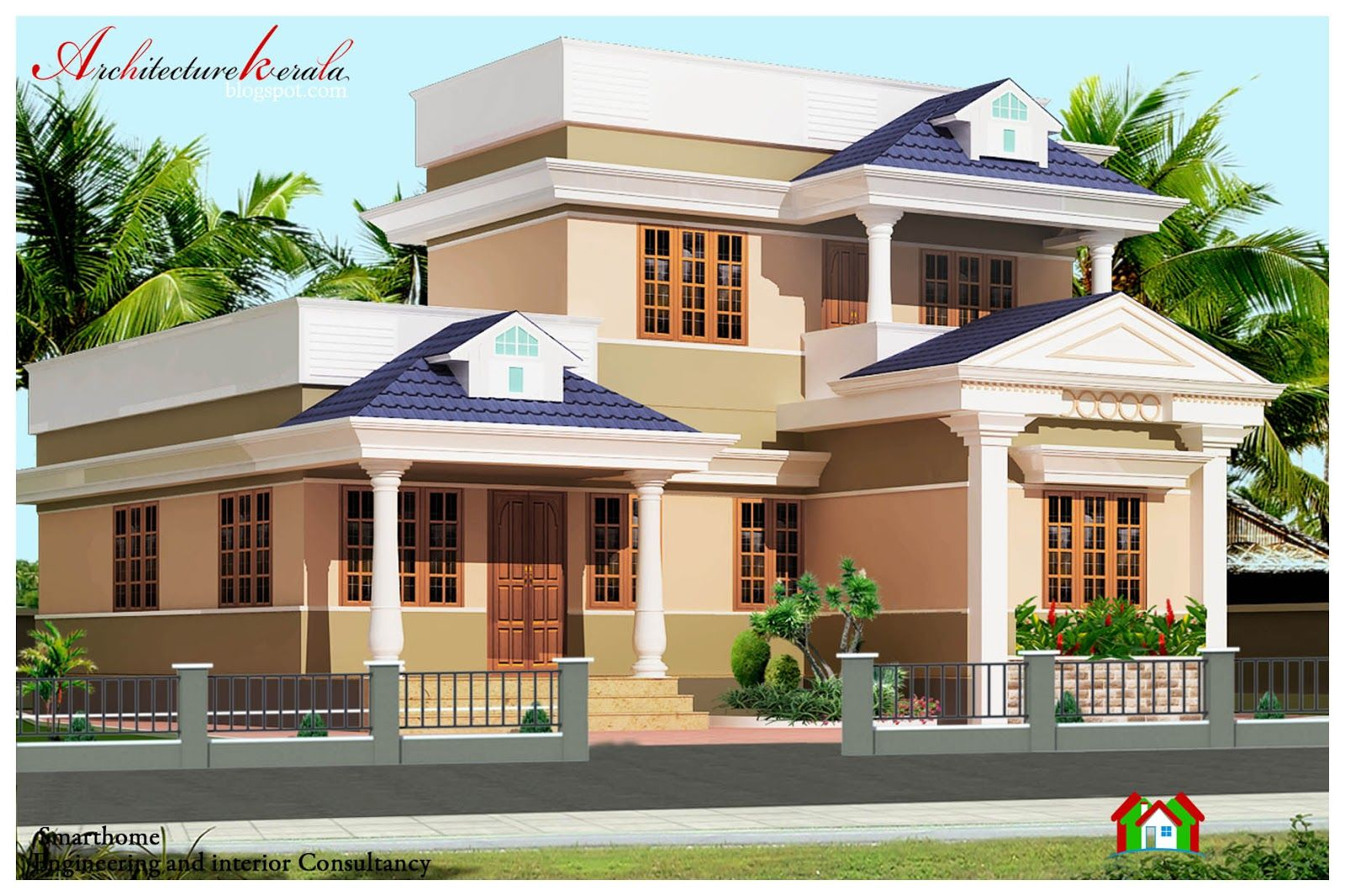 Architecture Design Kerala Model architectural house plans kerala model design new