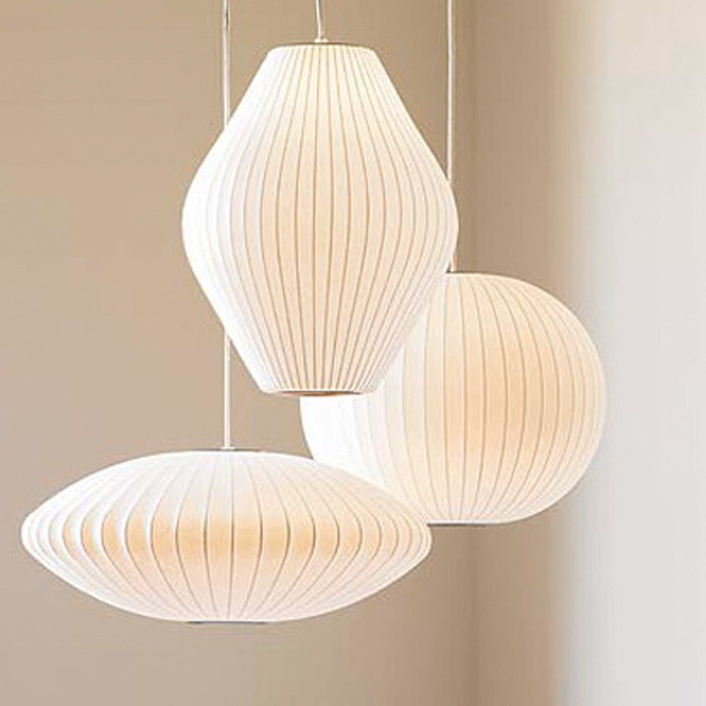 The Bubble Lamp Was Designed By George Nelson In 1947 As
