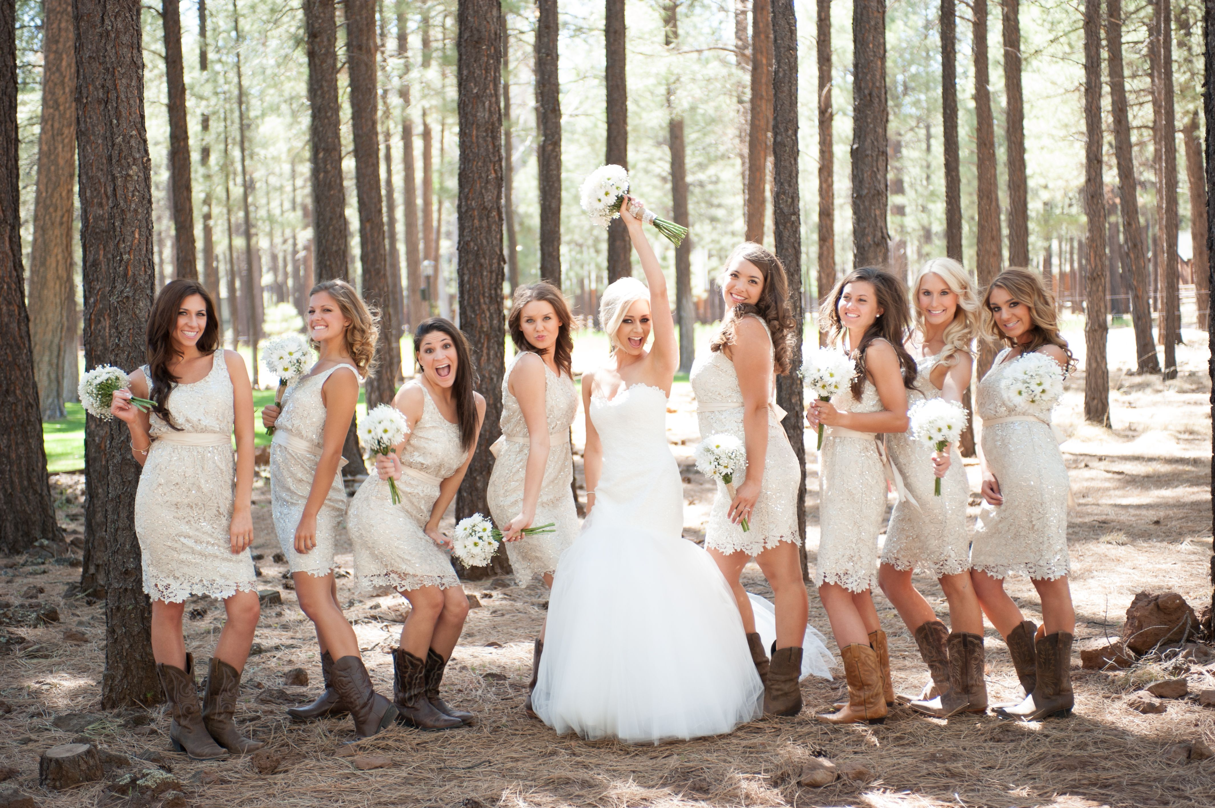 rustic wedding dresses Country Wedding Rustic Wedding Barn Wedding Lace Bridesmaids Dress Sparkly Bridesmaids Dress