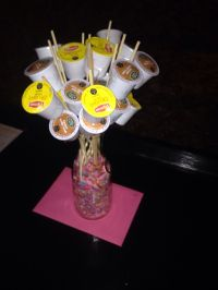 K-cup bouquet flowers for mom on Mother's Day | My crafty ...