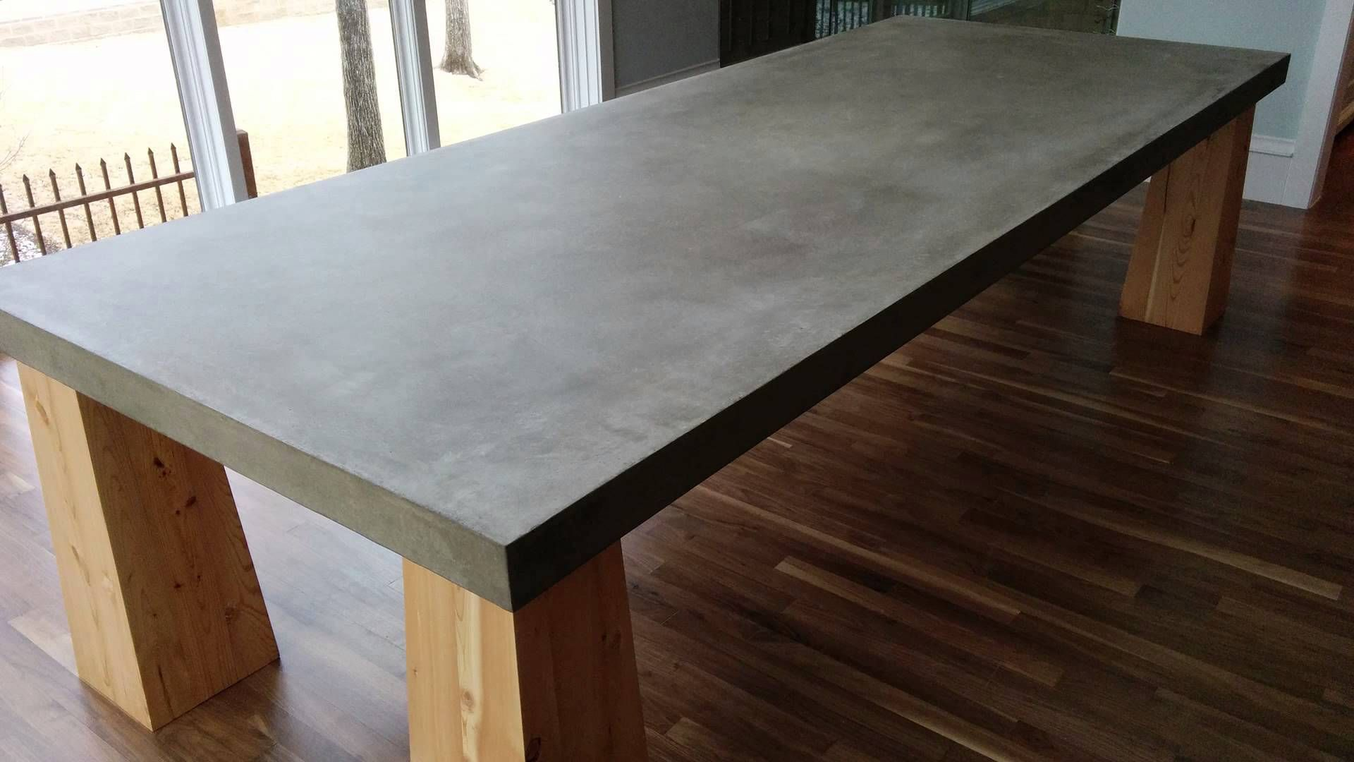 Concrete Table Top We 39ve Been Noticing An Increased Demand For Cement Table