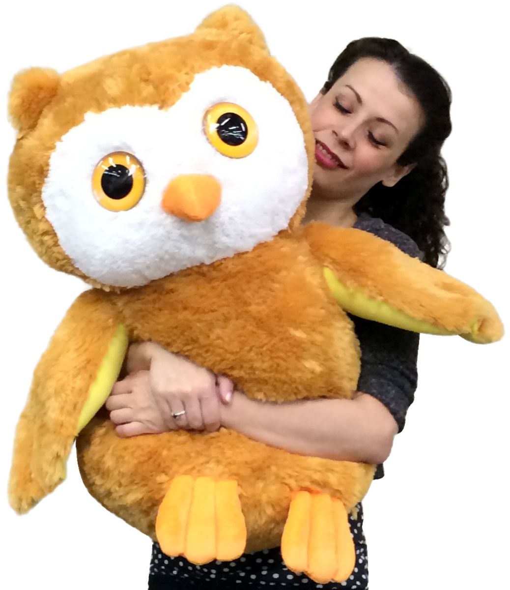 Stuff Owl Big Plush Personalized Giant Teddy Bears And Custom Large