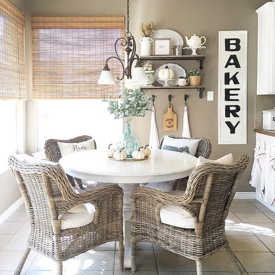 Breakfast Nook Curtains Breakfast Nook Farmhouse Style See This Instagram