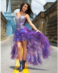 Pics For > Crazy Prom Dresses