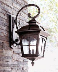Colonial Three-Light Wall Lantern   Wall lantern, Water ...