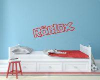Vinyl cut wall sticker Roblox boys bedroom poster ...