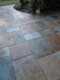 stamped concrete patio designs | Colored Stamped Concrete ...