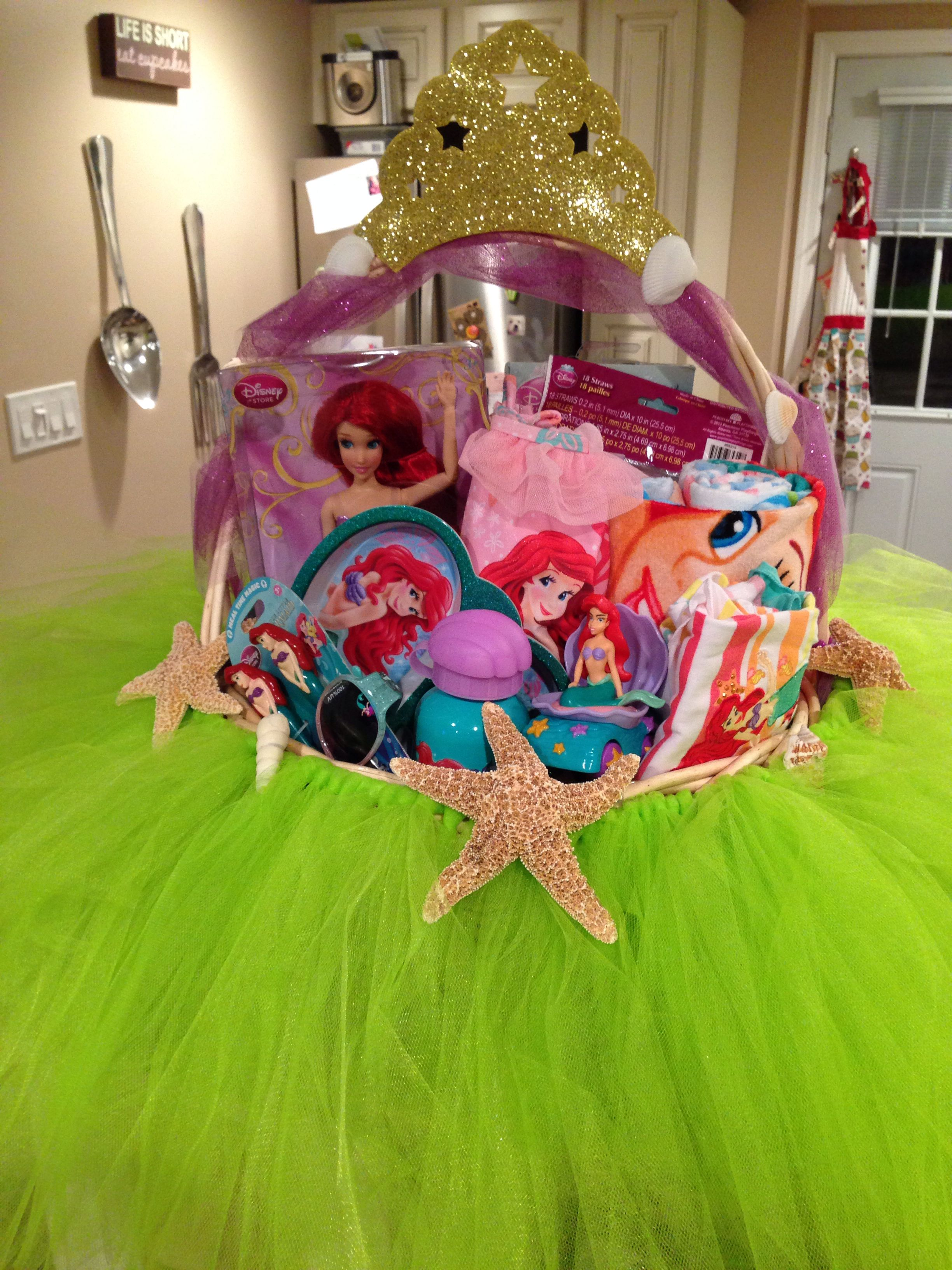 Mermaid Gift Ideas Hannah 39s Third Easter Basket Disney 39s The Little Mermaid
