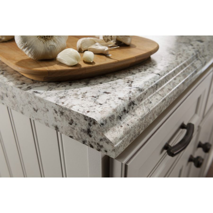 formica kitchen countertops Shop BELANGER Fine Laminate Countertops Formica 6 ft Ouro Romano with Etchings Straight Laminate Kitchen