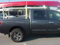diy pvc canoe rack for truck