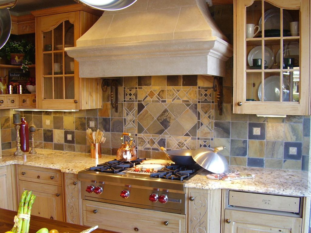 Spanish Tile Countertops Spanish Tile Backsplash Kitchen Ideas Future House Wish
