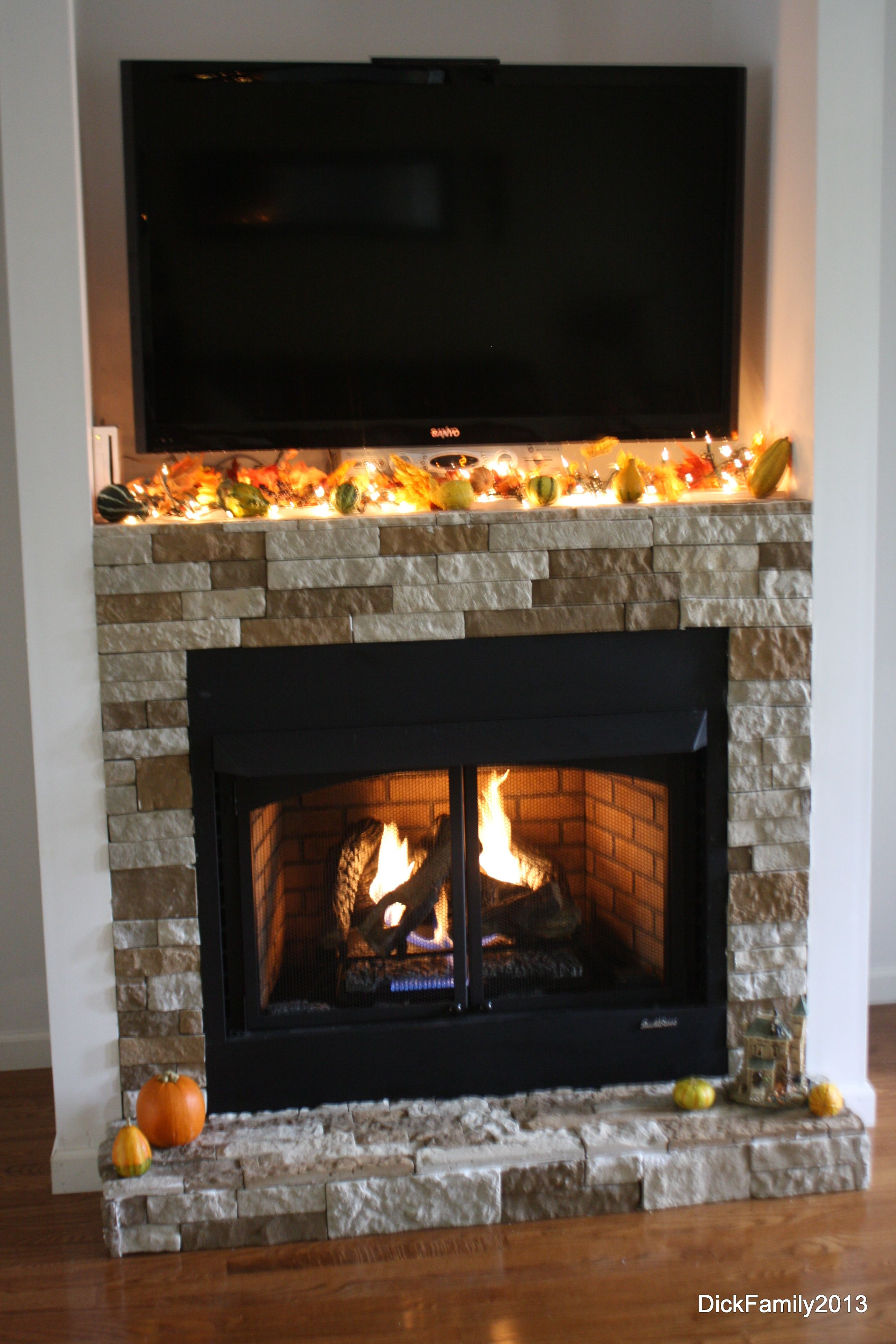 Lowes Gas Log Fireplace Inserts Our Fireplace Was Built By My Husband Our Stone Is Called