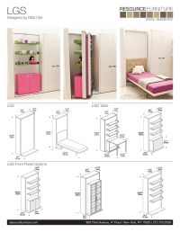 LGS | Resource Furniture | Wall Beds & Murphy Beds | Wall ...